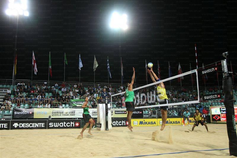 Impianto da beach volley