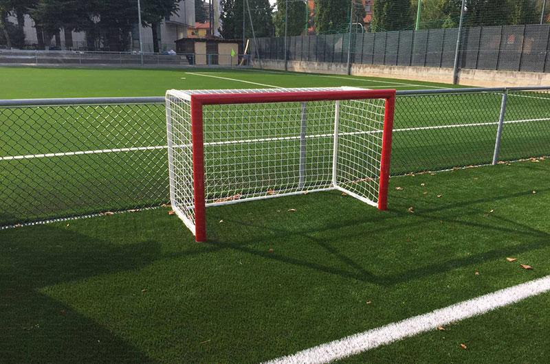 Porta da calcio da allenamento gonfiabile