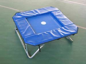 Trampolino elastico inclinabile cm.125x125.