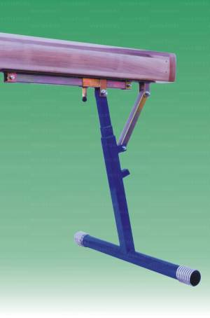 Trave di equilibrio altezza graduabile  55-120 cm a norma Fig.