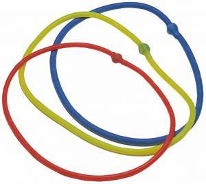 Blue ring elastic tubing, very strong