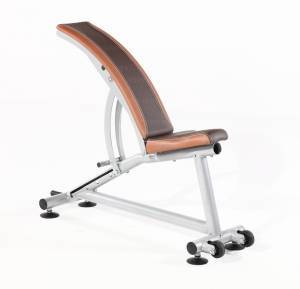 Curved bench adjustable