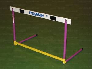 Olympic hurdle in steel agjustable height cm. 76,2-84-91,4-100-106,7