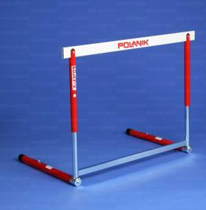 Olympic hurdle in steel/aluminium height cm. 76,2-84-91,4-100-106,7 Iaaf approved.