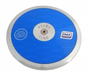Plastic Lo -spin discus, 1 kg,  Iaaf  approved