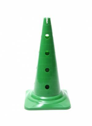 Drilled cone, height 50 cm with 16 holes